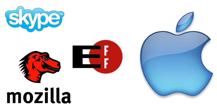 EFF y aliados contra Apple