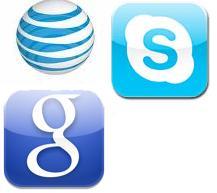 at&T-skype-googlevoice