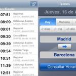 Ya puedes consultar los horarios de Renfe desde tu iPhone