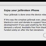 Para Mac: Cómo liberar o desbloquear el iPhone 3G/3GS en 20 segundos con BlackSn0w