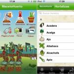 MacetoHuerto: una aplicación para el iPhone/iPod Touch que te ayuda a gestionar tu huerto