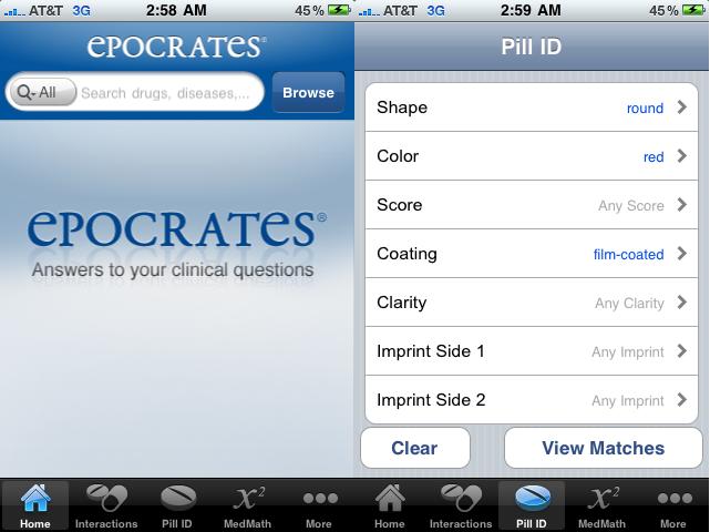 Epocrates iPhone