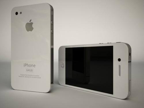 iPhone 4G white