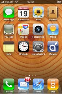iPhone OS 4.0 wallpapers, fondos de pantalla, iPhone