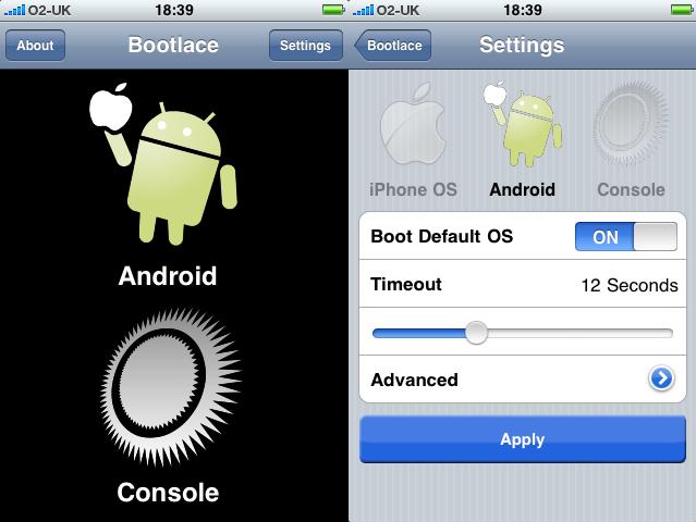Arranque dual en el iPhone