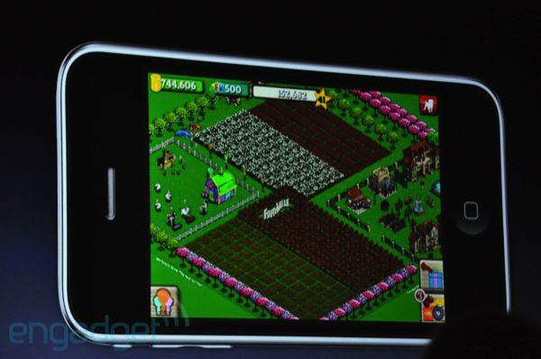 FarmVille app for iPhone