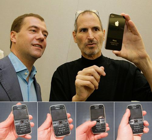 Cuatro formas de agarrar un Nokia
