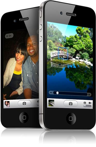 La cámara del iPhone 4