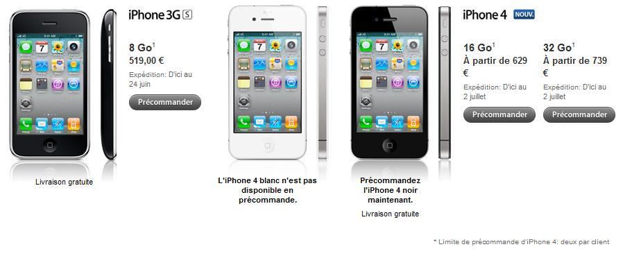iPhone 4 desbloqueado y sin contrato