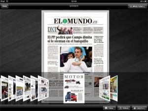 El Mundo en el iPad