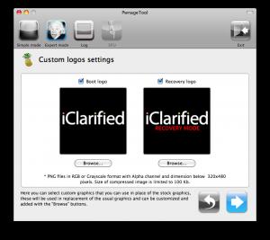 iPhone custom boot logo and restore logo
