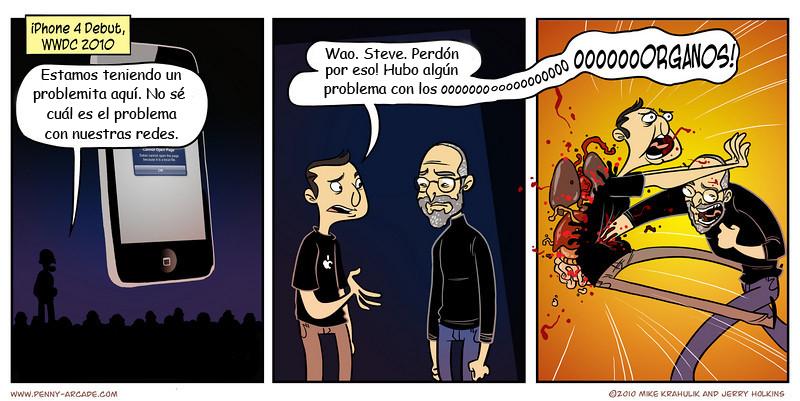 Steve Jobs fatality