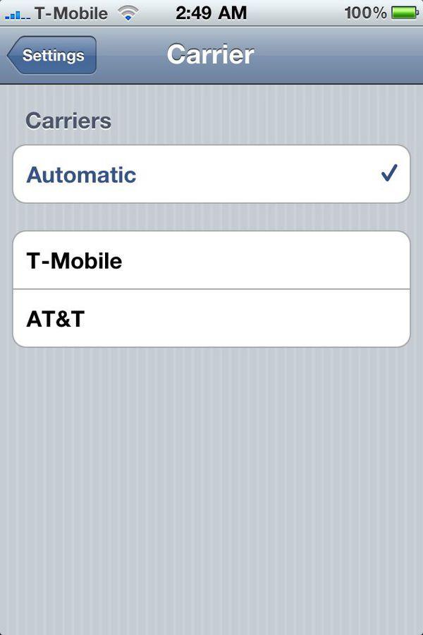 iPhone 4 Carrier unlocking