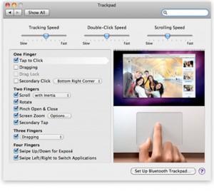 Magic Trackpad Ajustes