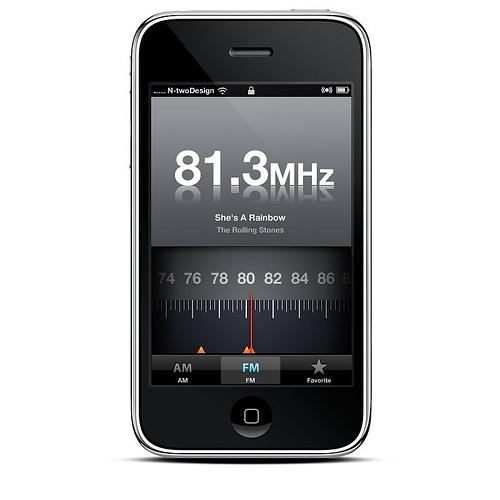 iPhone Radio FM