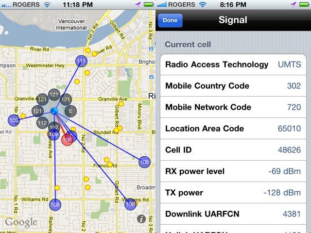 Signal in jailbroken iPhone