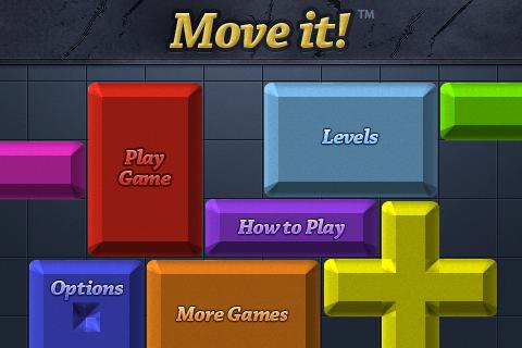 Move It iPhone Menu