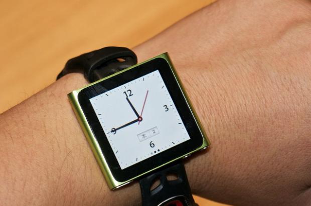 Reloj con el iPod Nano