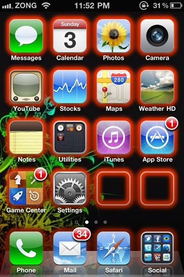 Glow App Icons