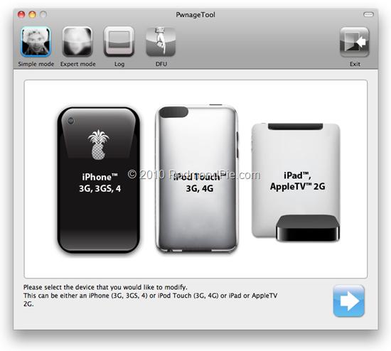 pwnage tool 4.1.2 windows