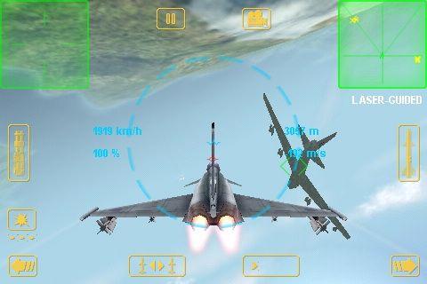 Simulador de vuelo para el iPhone