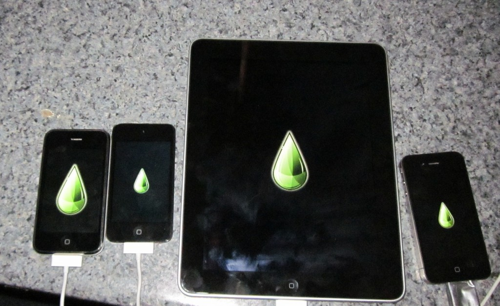 iDevices jailbroken with limera1n