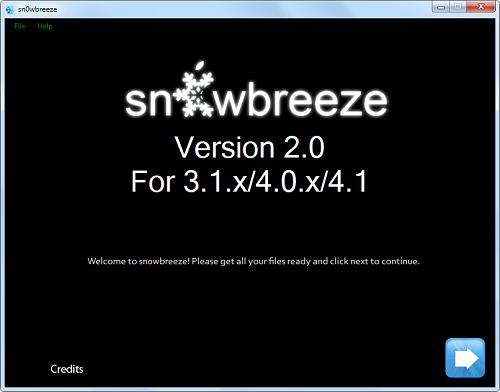 Sn0wBreeze jailbreak iOS 4.1