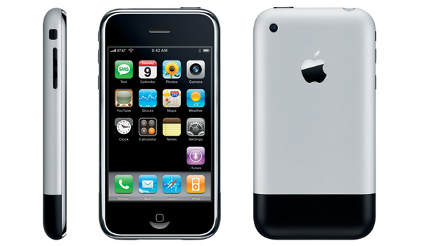 iPhone 2G, el primer iPhone.