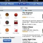 Google Places: otra aplicación de Google que encontró su lugar en el iPhone