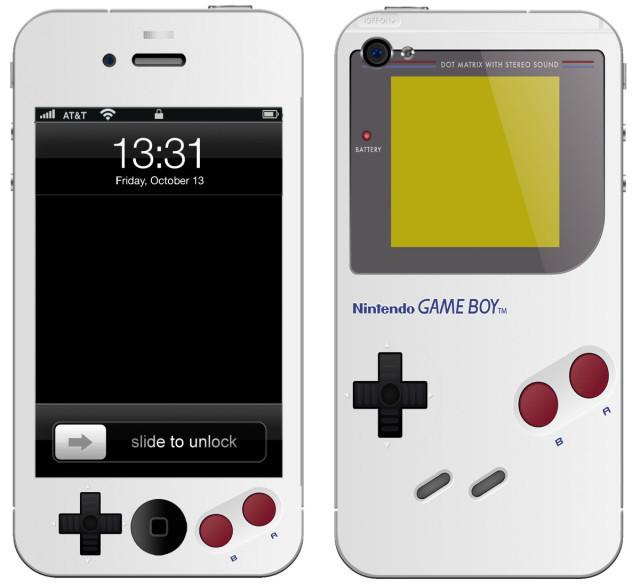 Skin Game Boy para el iPhone 4