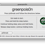 Cómo hacerle el jailbreak al iPhone 3GS/iPhone 4/iPod touch con iOS 4.2.1 usando GreenPois0n para Mac