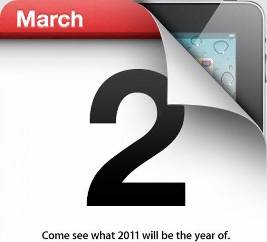 invitaciones evento iPad 2