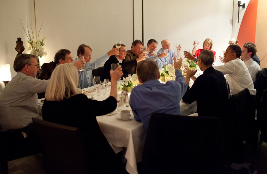 Obama reunido con principales CEO de Sillicon Valley