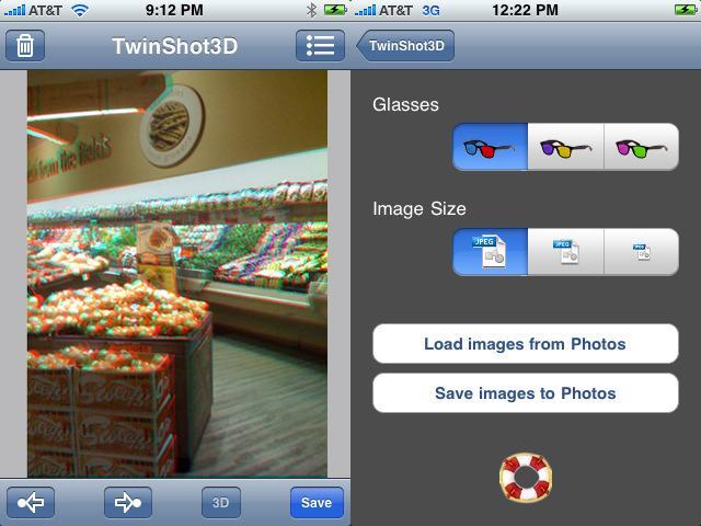 Fotos 3D con el iPhone