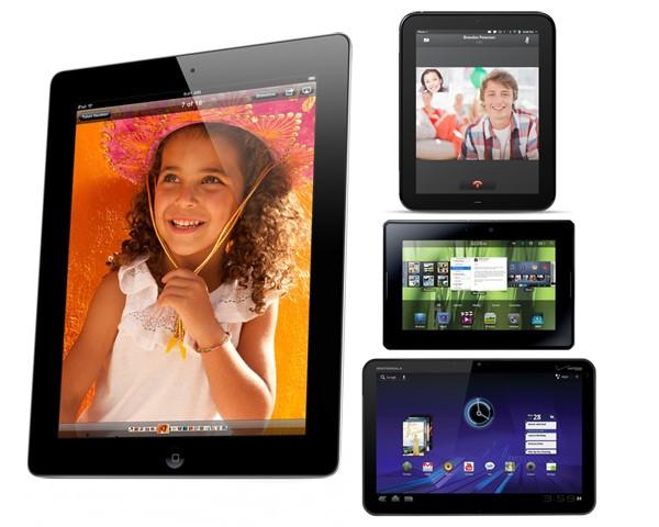 iPad 2 vs. Otras tabletas