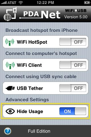 PdaNet 5.0 oculta el tethering a tu compañía telefónica