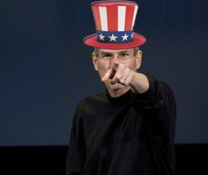 Steve Jobs ahora es el Tío Sam