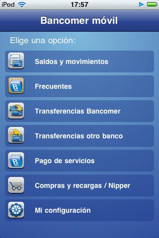 Las principales aplicaciones de banca m vil para iphone y for Bankia oficina de internet entrar