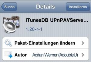 itunesDB-UPnPAVServer