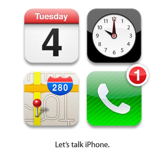 Invitaciones evento presentación del iPhone 5