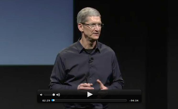 Ver Keynote de Apple