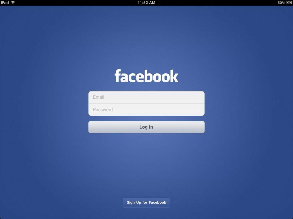 Por fin facebook libera aplicación oficial para el ipad