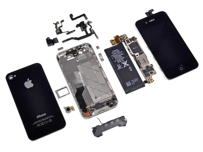 Partes el iPhone 4S