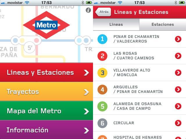 El Metro de Madrid estrena nueva aplicación. | Applediario
