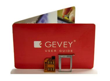red-gevey-sim-package