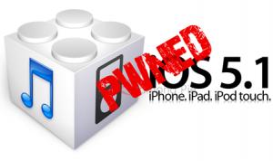 iOS 5.1 jailbreoken