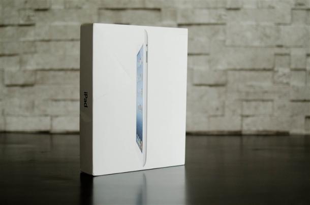 Nuevo iPad en caja