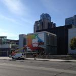 Apple ya ha empezado a preparar el Yerba Buena Center para el evento del miércoles.