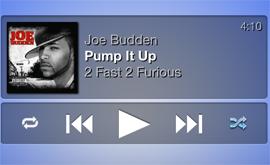 Jukebox widget para DashboardX