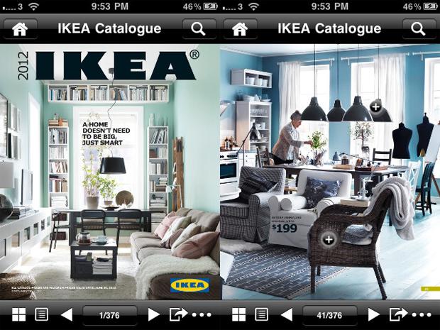 El cat logo de ikea del 2013 usar realidad aumentada para - Ikea espana catalogo ...